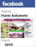 Marie Antoinette sur Facebook